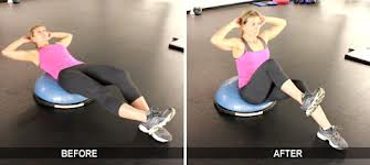 3 Effective Core Exercises on The Bosu Balance Trainer