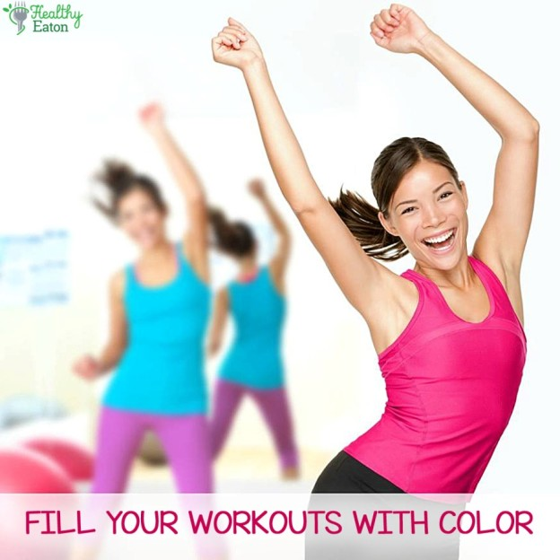 Fitness Hues for the Blues: Are you choosing the right colors for your workouts?